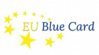 Логотип европейской системы Blue Card