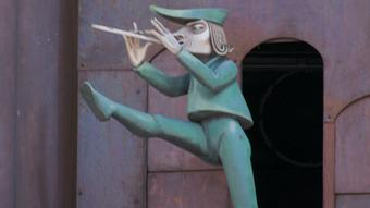 Weserbergland - Statue of the Pied Piper
