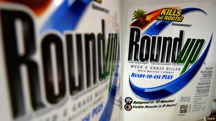 Monsantos 'Roundup' (Foto: AP)