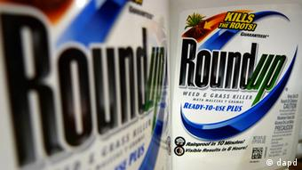 File photo show bottles of Roundup herbicide, AP Photo/Jeff Roberson, File