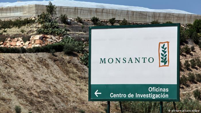 Monsanto - Firmenschild