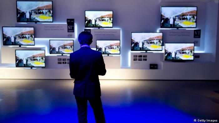 Телевизоры на стене