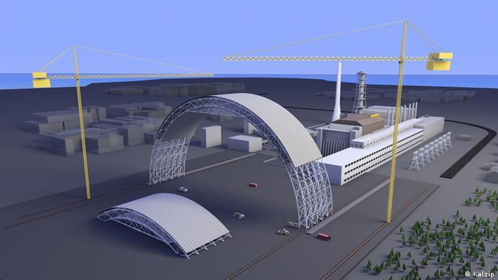 Осенью 2013 года будет достроена первая секция конфайнмента