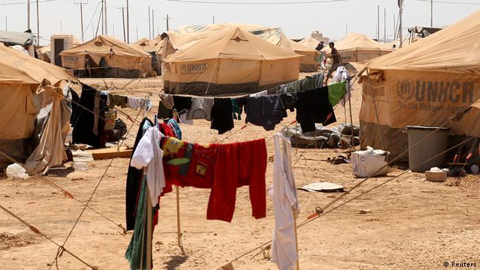 یکی از اردوگاههای آوارگان سوری در اردن