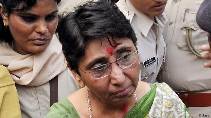 Indien Urteil nach Unruhen in Gujarat vor 10 Jahren Mayeben Kodnani (dapd)