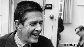 American composer John Cage (Photo by H V Drees/Getty Images)