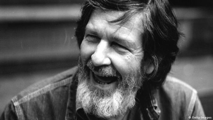 John Cage, experimental composer of pieces such as 4'33'' (1952)
