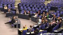 Bundestag - Plenarsaal leer