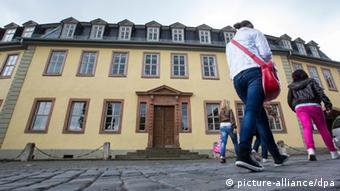 Goethehaus in Weimar, Copyright: picture-alliance/dpa