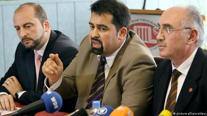 Pressekonferenz der muslimischen Verbände gegen Terror und Gewalt