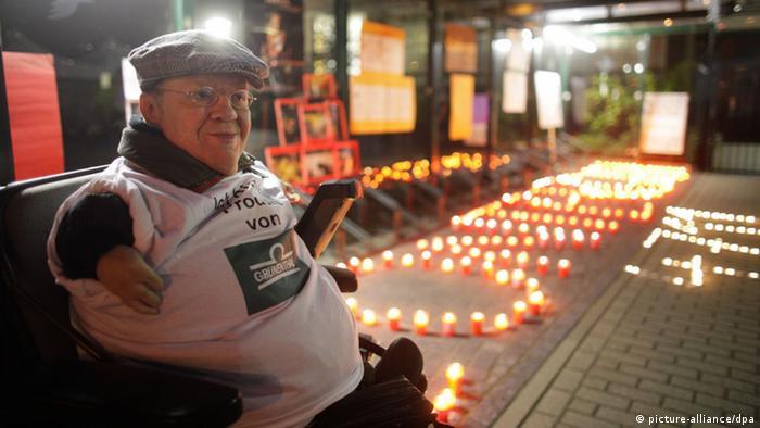 Der Vorsitzende des Bundes Contergangeschädigter und Grünenthalopfer, Andreas Meyer (Archivfoto: picture-alliance/dpa)