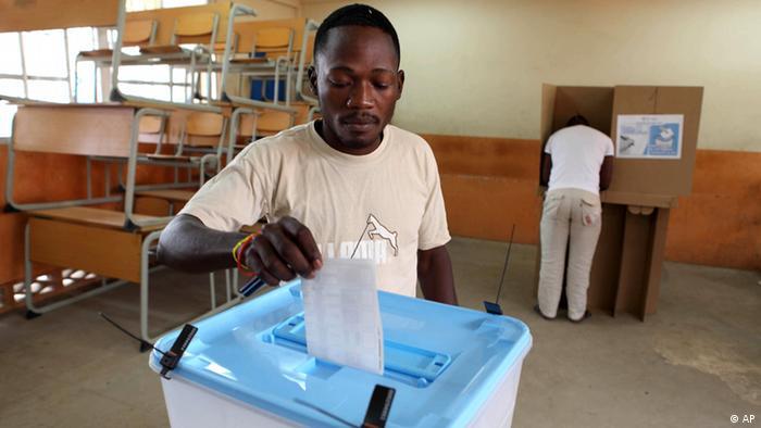 Angola 2012 Wahlen Luanda (AP)