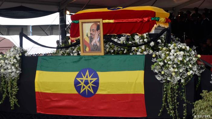 Äthiopien Begräbnis Premierminister Meles Zenawi