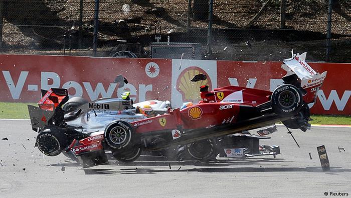 Formel 1 Spa Große Preis von Belgien (Reuters)