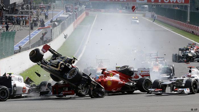 Formel 1 Spa Große Preis von Belgien