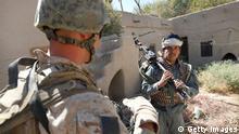Afghanistan Ausbildung von Polizisten durch US Militär