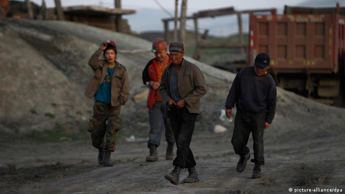 Bergbau in der Mongolei