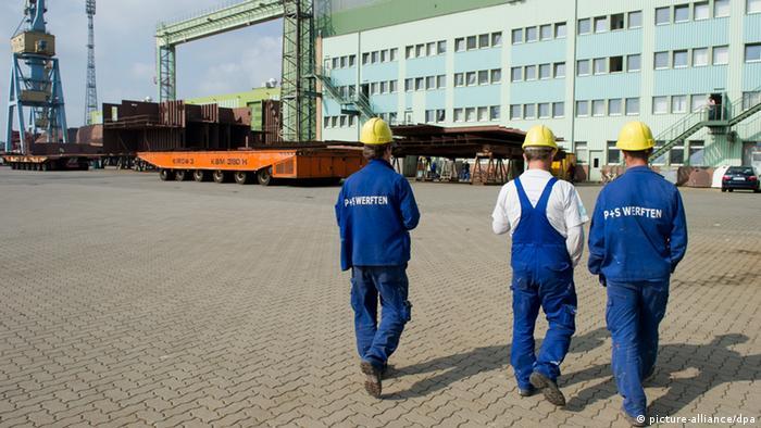 P+S-Werften in Stralsund