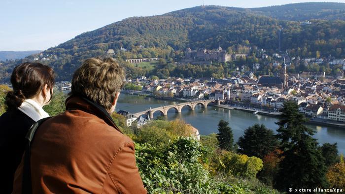 Heidelberg Stadtansicht Panorama