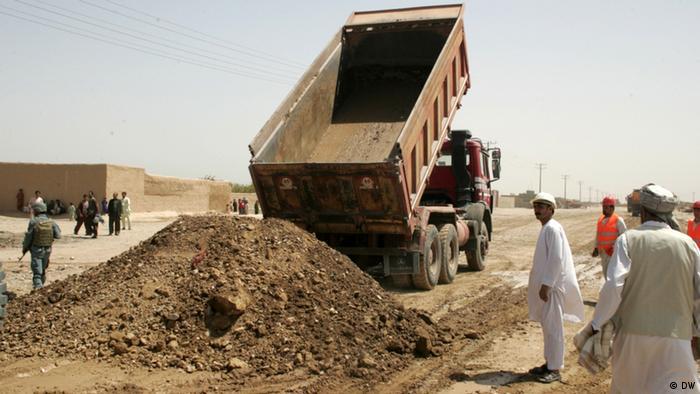 Grundsteinlegung Straßenbau in Herat Afghanistan