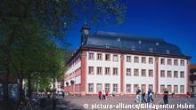 Alte Universität in Heidelberg, Baden-Württemberg, Deutschland