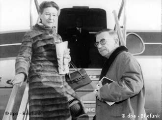 سیمون دوبوار و ژان پل سارتر