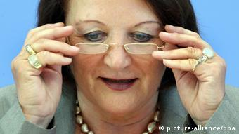 Bundesjustizministerin Sabine Leutheusser-Schnarrenberger (Foto: dpa)