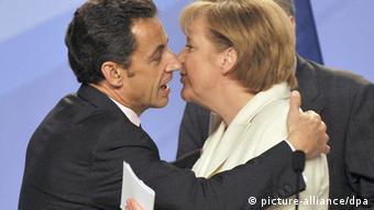 Nicolas Sarkozy und Bundeskanzlerin Angela Merkel Foto: Horacio Villalobos (EPA)