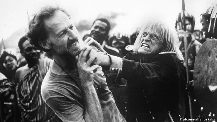 Werner Herzog and Klausi Kinski (picture-alliance / dpa)