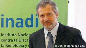 Pedro Mouratian, interventor del INADI.