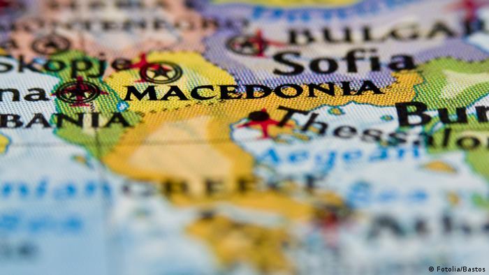 Mazedonien Fotolia Karte
