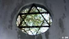 The Star of David at the Jewish Cemetery in Vilnius
