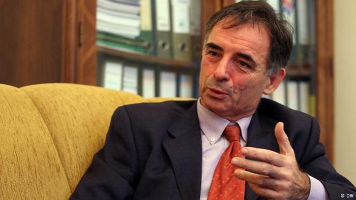 Vertreter der serbischen Minderheit in Kroatien und Parlamentsabgeordnete Milorad Pupovac. Foto DW/Gordana Simonovic 11.07.2011
