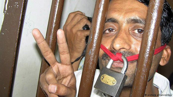 Pakistan P.E.N. Inhaftierter pakistanischer Journalist