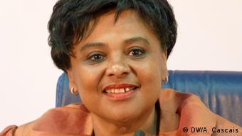 Angola Ministerin für Medien Carolina Cerqueira in Luanda (DW/A. Cascais)