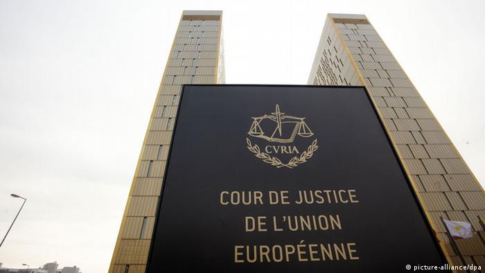 The European Court of Justice Photo: Thomas Frey dpa/lrs