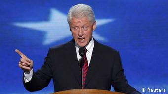 Former President Bill Clinton addresses delegates during the second session of the Democratic National Convention in Charlotte, North Carolina, September 5, 2012. (Photo: REUTERS/Jason Reed)