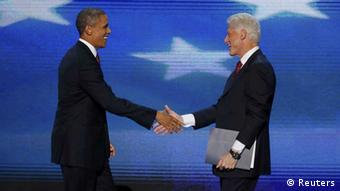 Barack Obama / Bill Clinton / USA / US-Demokraten / Charlotte