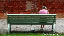 Symbolbild zu Depression, Trauer, Einsamkeit Bild: Fotolia / X n' Y hate Z # 8974349