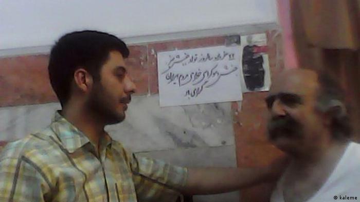 کیوان صمیمی و مسعود باستانی در زندان رجاییشهر
