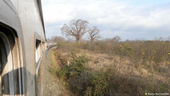 Linha de Sena Moatize - Beira (imagem de arquivo)