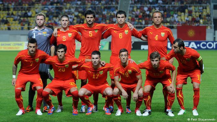 Makedonska nogometna reprezentacija