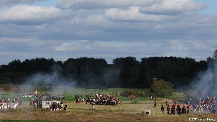 Историческая реконструкция Бородинской битвы в 2012 году