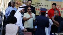 تجمع خانوادههای دستگیرشدگان ناآرامیهای اخیر در برابر دادگاهی در بحرین