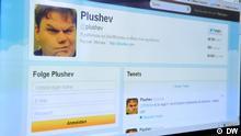 Deutsche Welle Russland Blogger Alexander Pluschew Twitter
