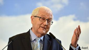 Politician Rainer Brüderle speaking at an event