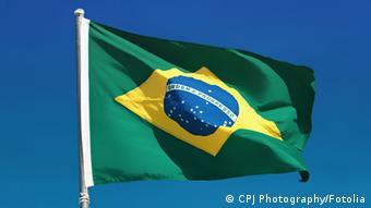 Brasilien Fahne Himmel
