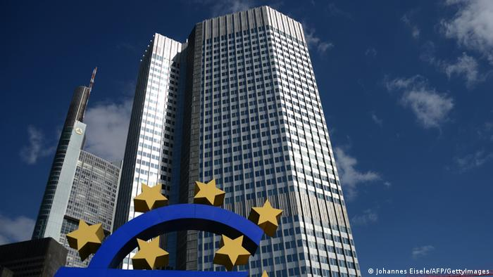 The headquarters of the European Central Bank (ECB) is pictured in Frankfurt am Main, western Germany, on September 6, 2012. The European Central Bank decided to leave its main refinancing rate at a historic low of 0.75 percent, as it mulls other ways to combat the eurozone debt crisis. AFP PHOTO / JOHANNES EISELE (Photo credit should read JOHANNES EISELE/AFP/GettyImages)