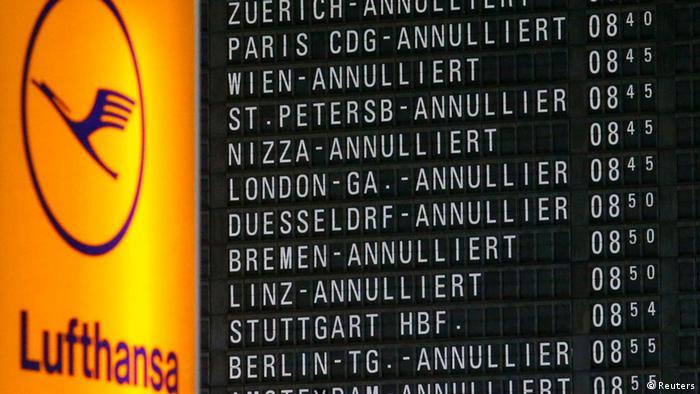 Lufthansa streik aktuell welche flüge sind betroffen