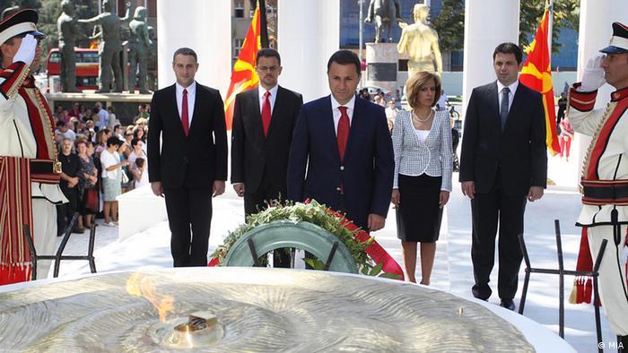 Mazedonien - Ministerpräsident Nikola Gruevsk